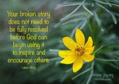 Your broken story
