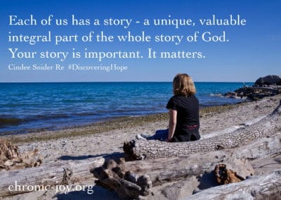 Each of us has a story