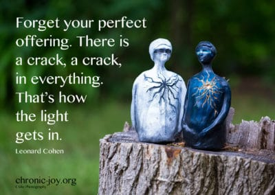 Forget your perfect offering.