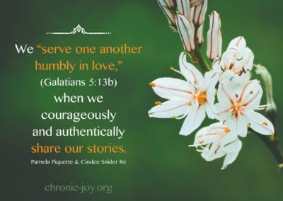 serve one another humbly in love