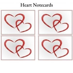 Heart Notecards