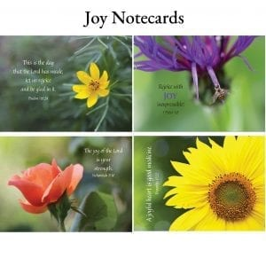 Joy Notecards