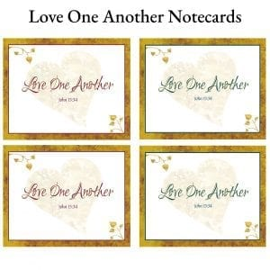 Love One Another Notecards