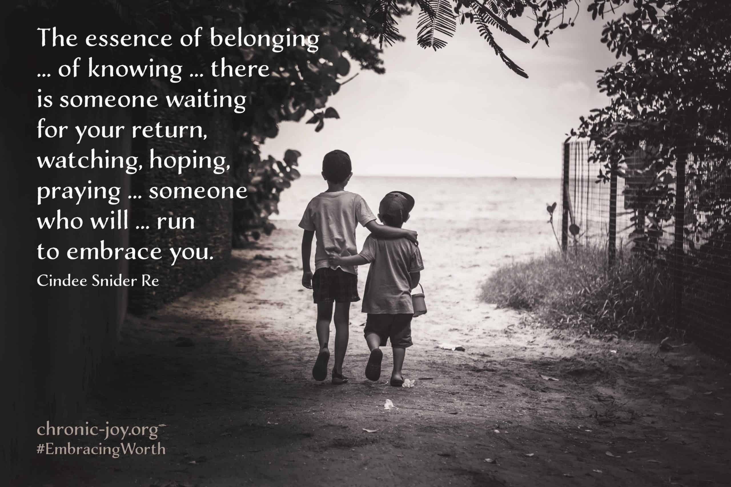 Run to embrace