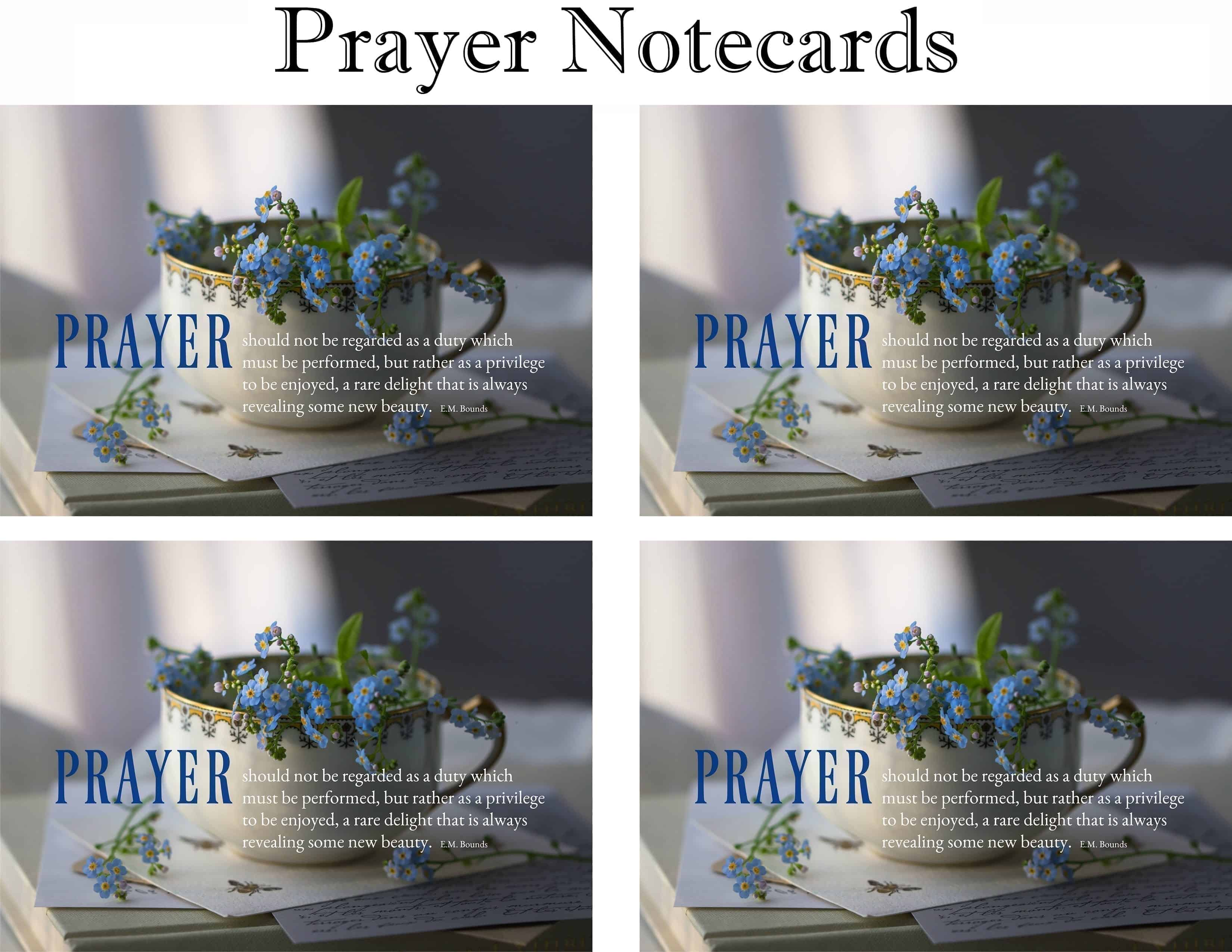 Prayer Notecards