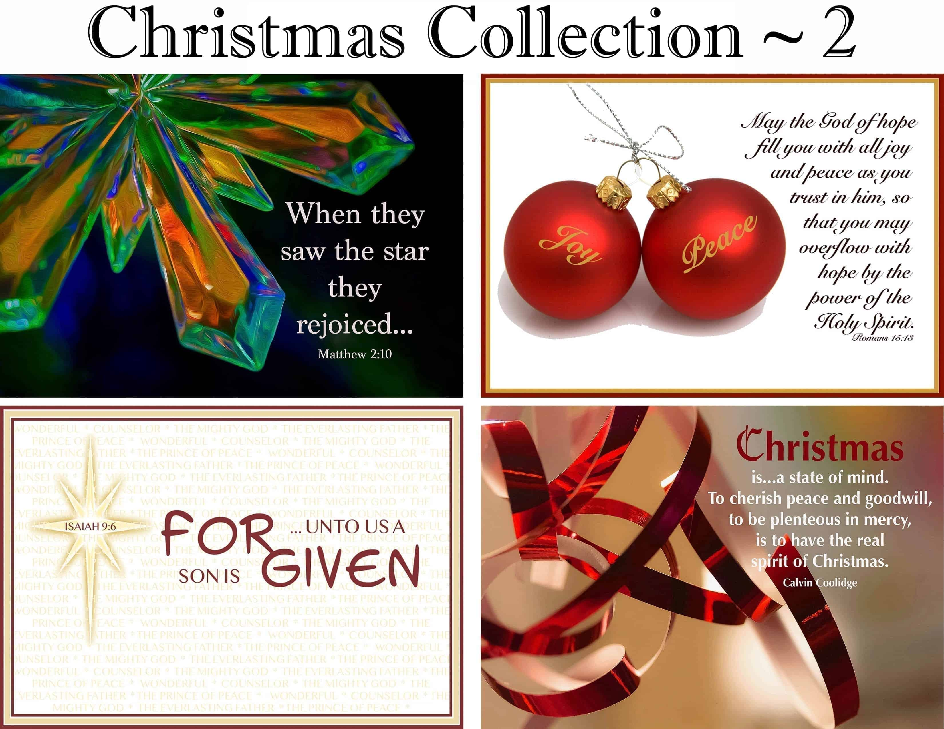 Christmas Collection ~ 2