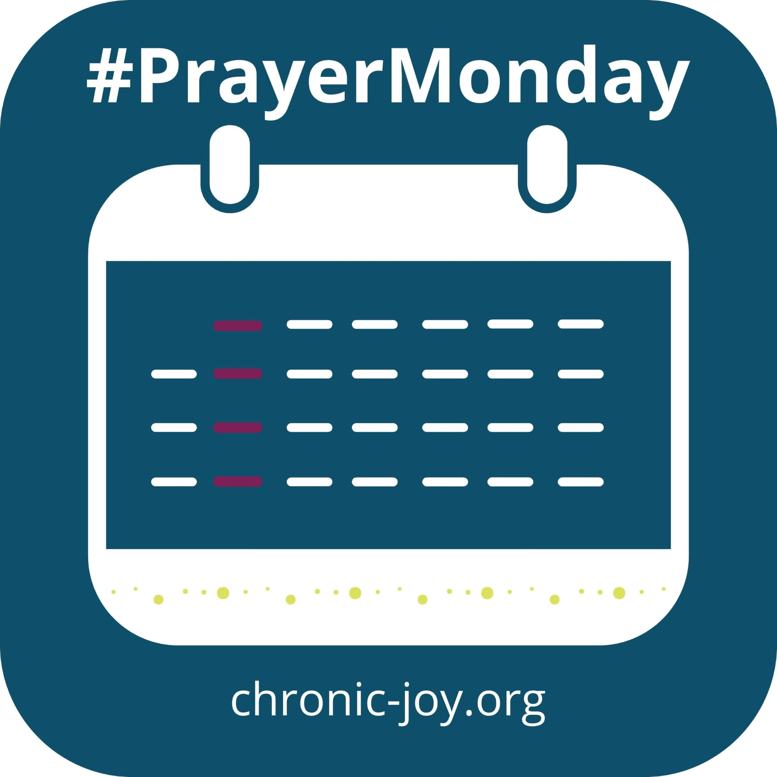 #PrayerMonday