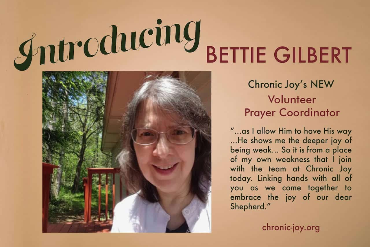 Volunteer Prayer Coordinator – Bettie Gilbert
