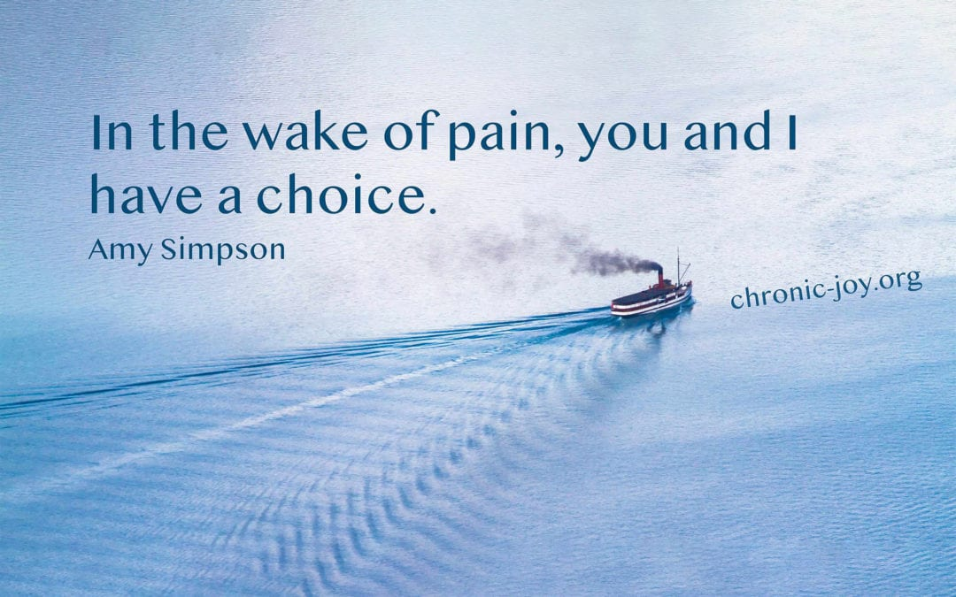 Your Pain Comes with Possibilities