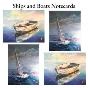 Ships and Boat Notecards