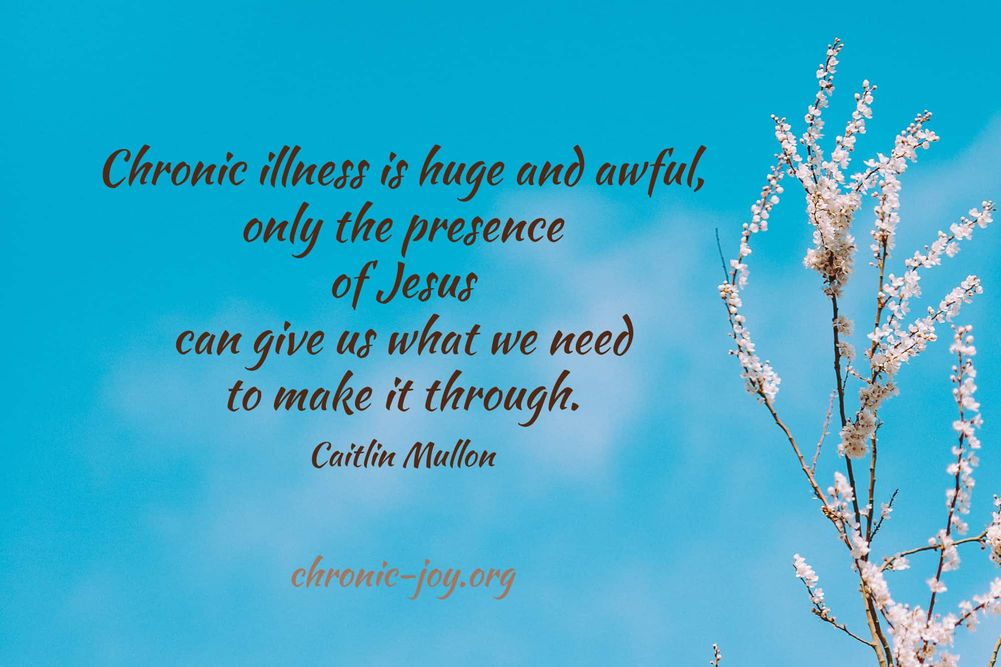 God's Presence in chronic illness