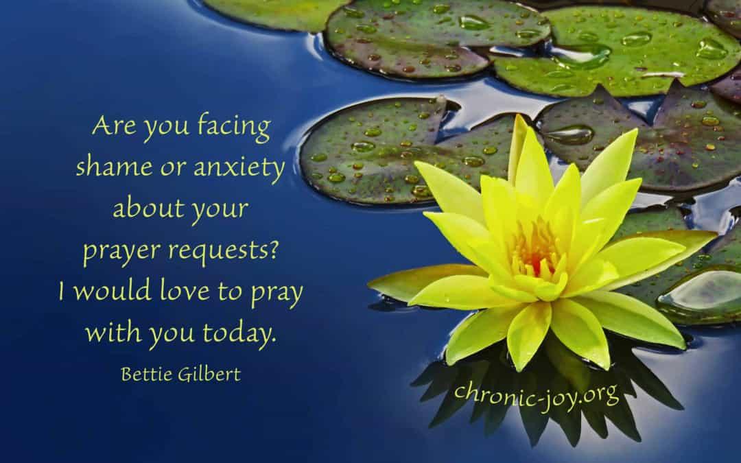 Lifting Shame in our Praying