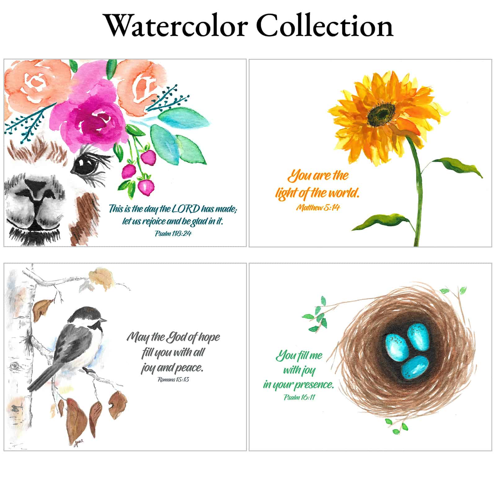 Watercolor Collection