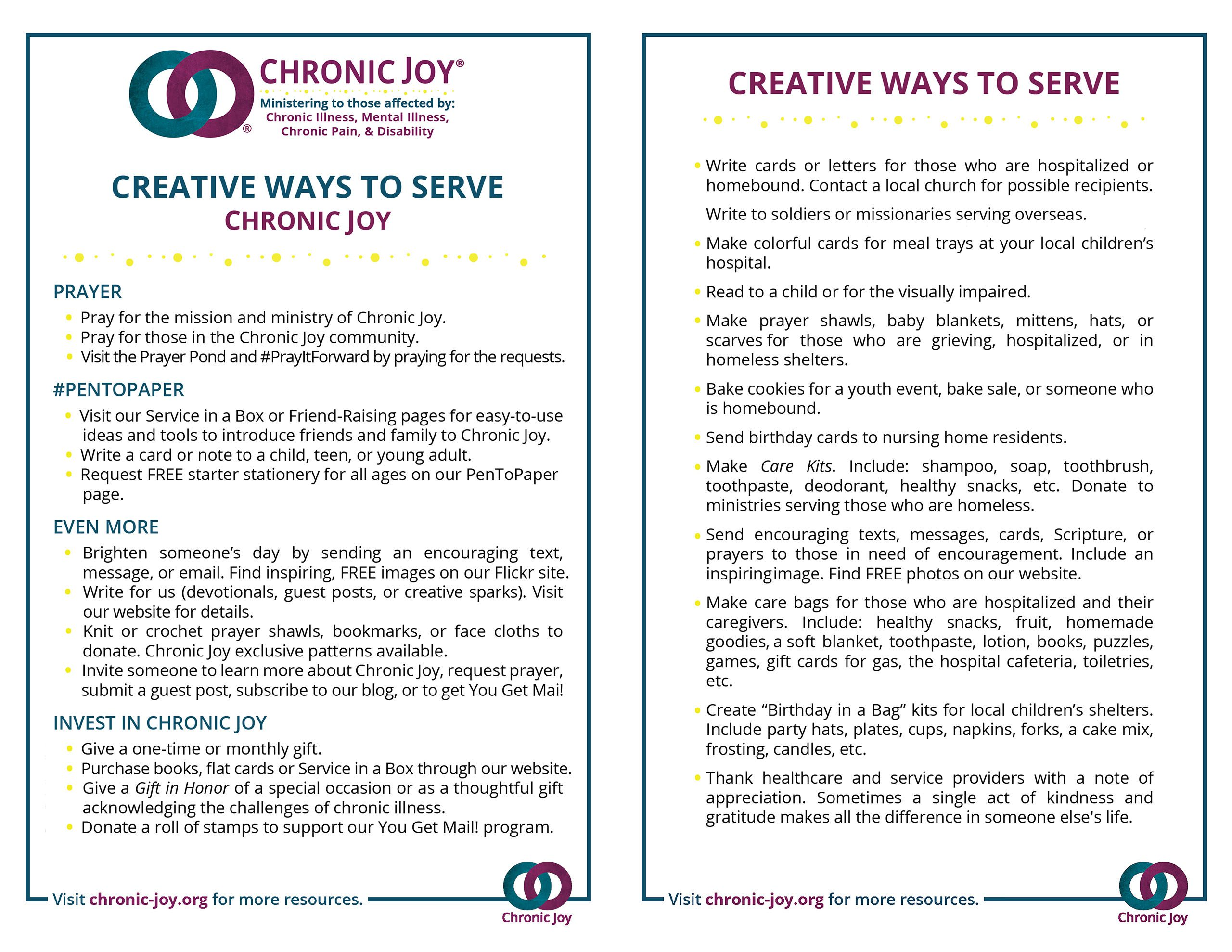 Creative Ways to Serve