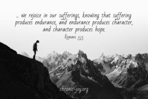 we rejoice in our sufferings