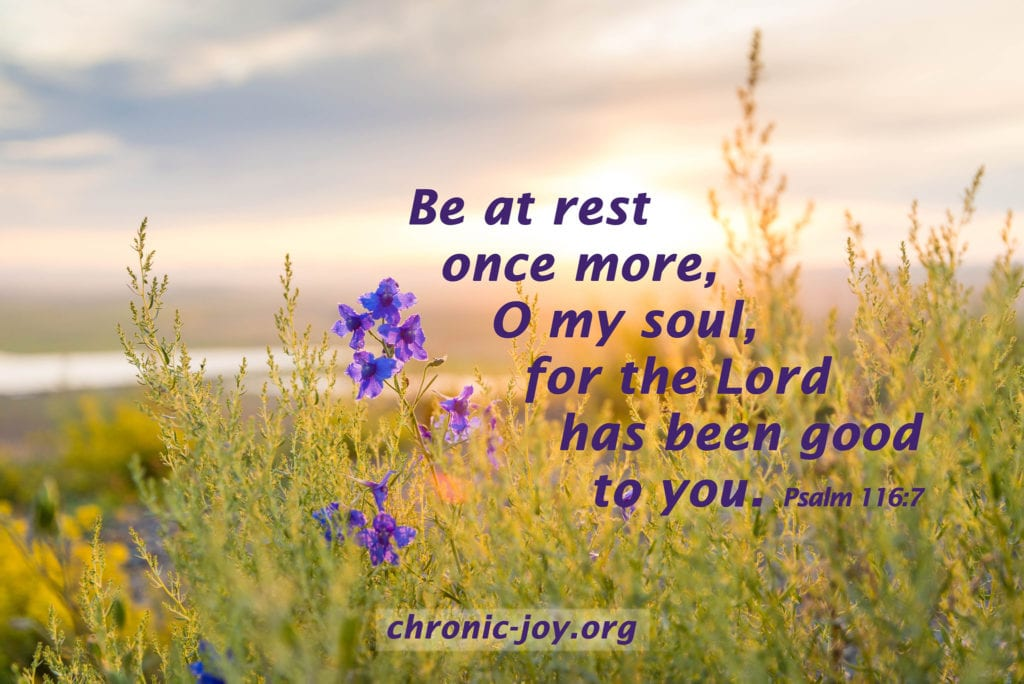 Be at rest once more
