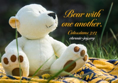 Bear with One Another