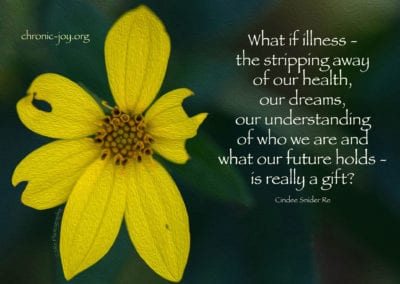 What if illness is really a gift?