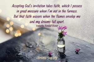 Accepting God's invitation takes faith.