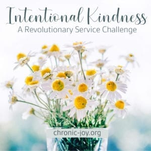 INTENTIONAL KINDNESS • A REVOLUTIONARY SERVICE CHALLENGE