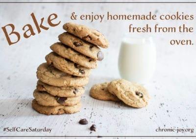 Bake and enjoy cookies