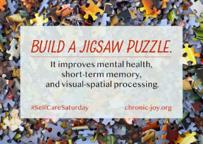 Build a jigsaw puzzle