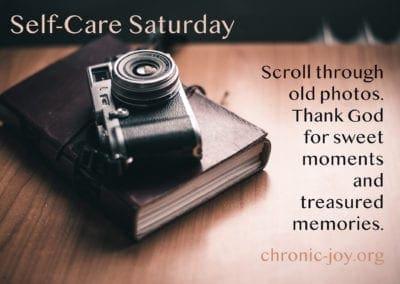 Scroll through old photos.