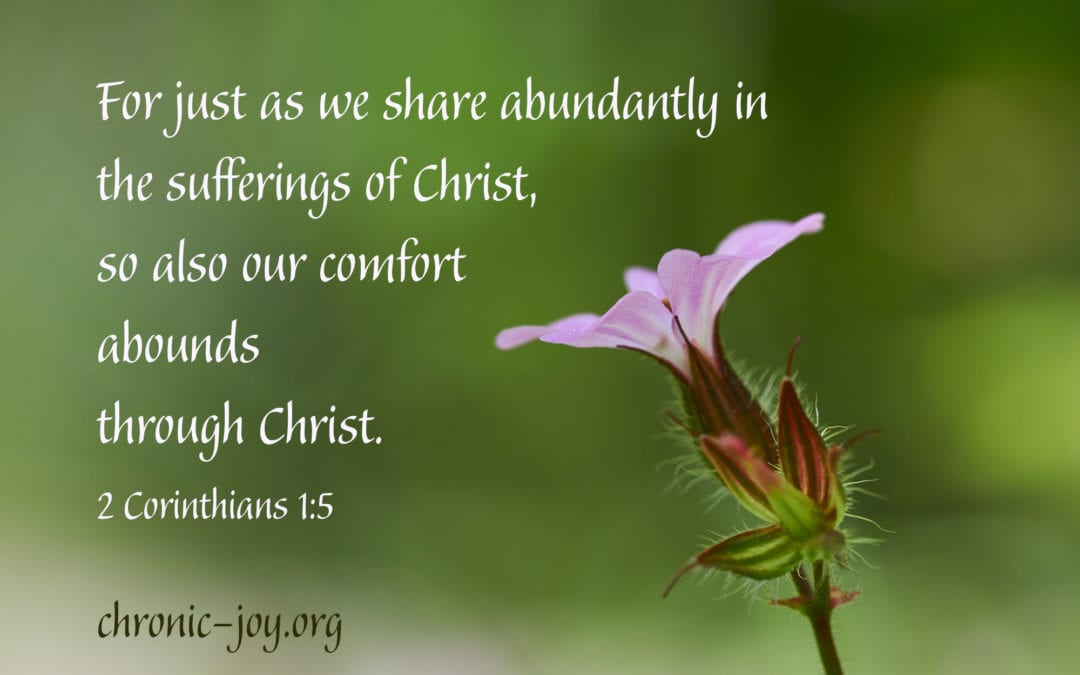 Sharing the Comfort of Christ • Prayer Prompts