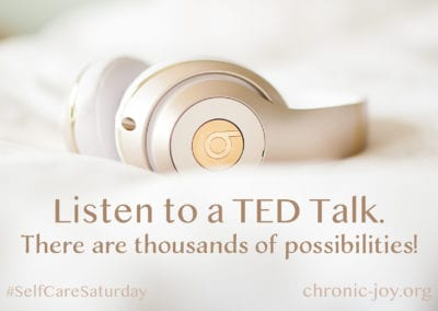 Listen to a TED Talk.