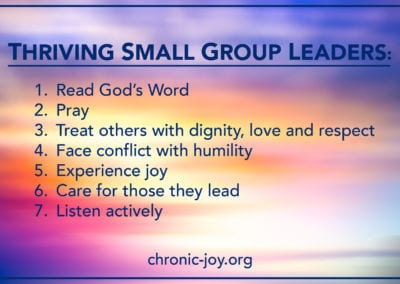 Thriving Small Group Leaders