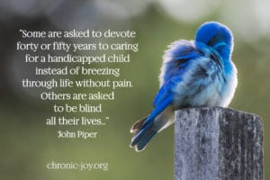 Words of Hope for a Baby Born Blind