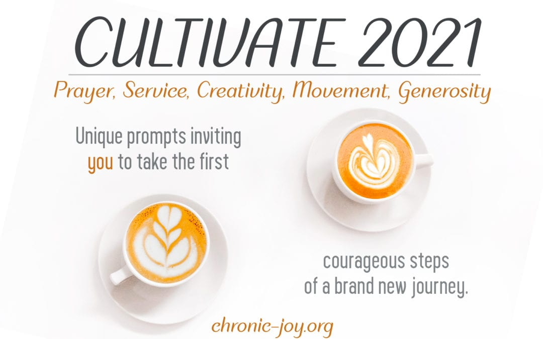Cultivate 2021 • Six Unique Monthly Prompts