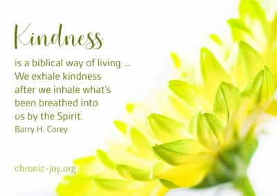 Kindness, is a biblical way of living