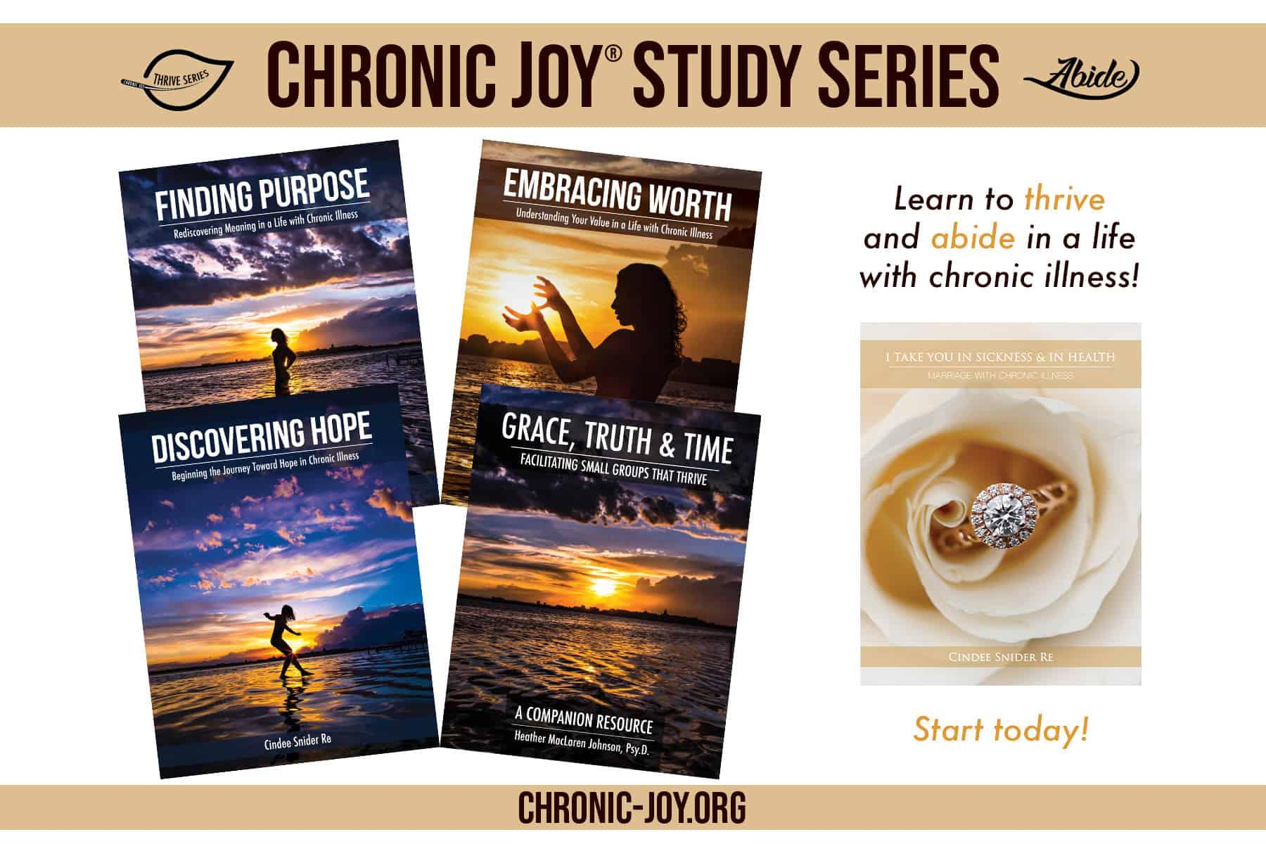 Chronic Joy® Study Series