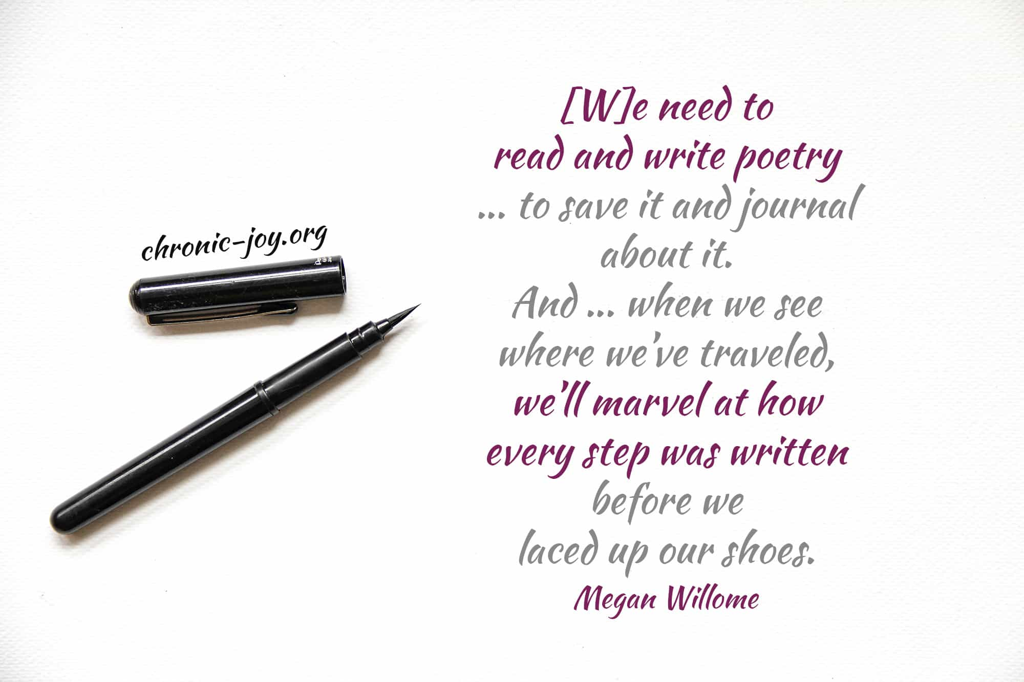 Poetry Journaling • A Way to Remember