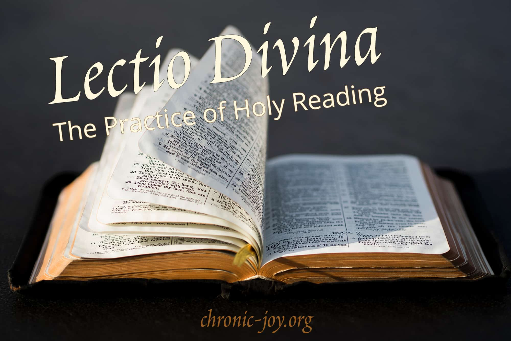 Lectio Divina • The Practice of Holy Reading
