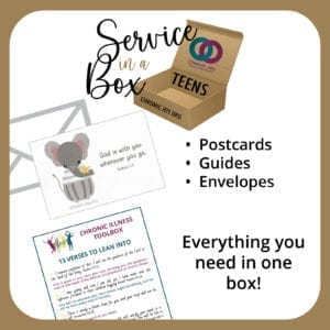 Service in a Box • Teens • Everything you need in one box!